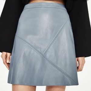 Philosophy Faux Leather Skirt